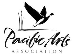 PACIFIC ARTS ASSOCIATION Logo