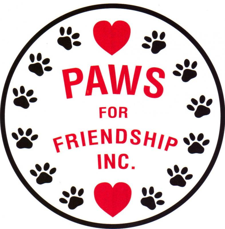 Paws for Friendship Logo