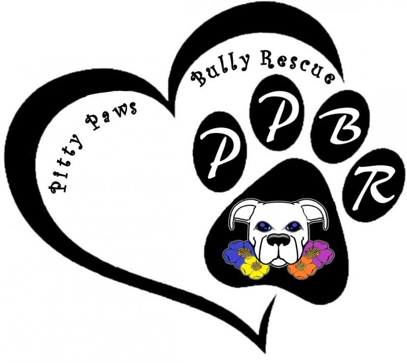 Pitty Paws Bully Rescue, Inc Logo