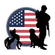 Pets and Patriots Foundation Logo