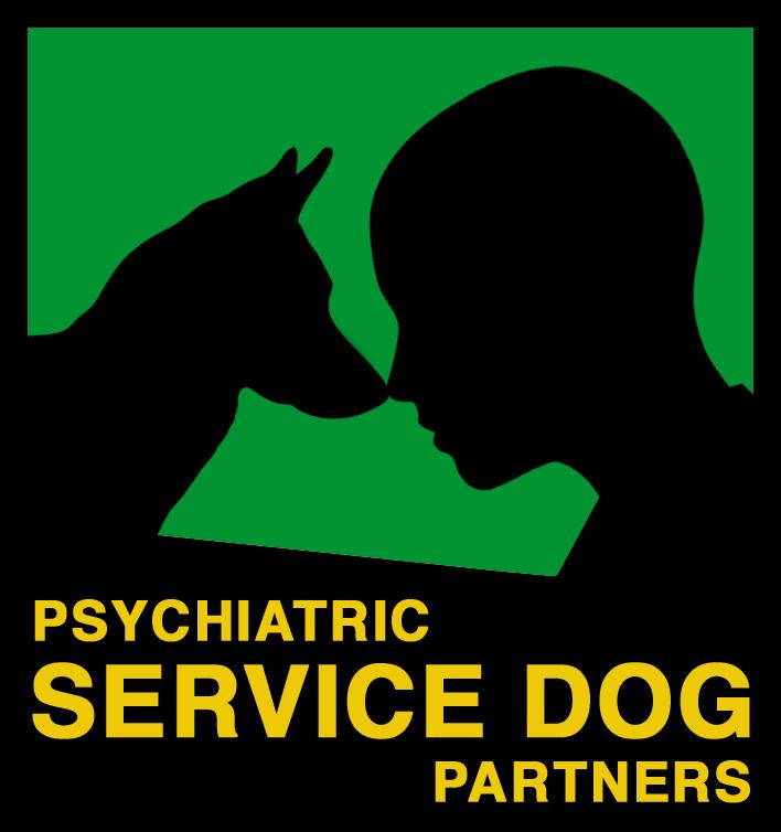 Psychiatric Service Dog Partners Logo