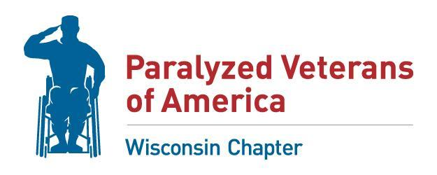 Paralyzed Veterans Of America Wisconsin Chapter Logo