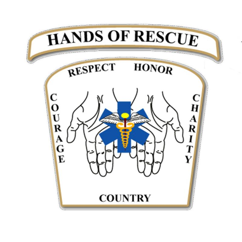 HANDS OF RESCUE MOTORCYCLE CLUB INC. Logo