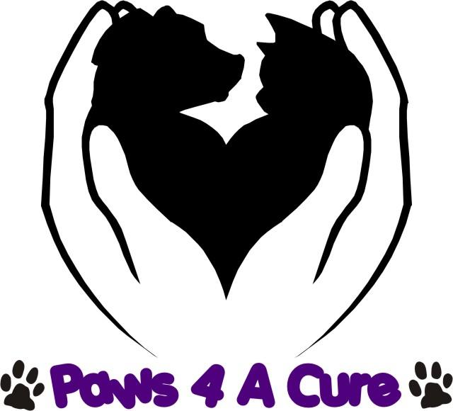 Paws 4 A Cure Logo