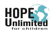 Hope Unlimited For Children Logo