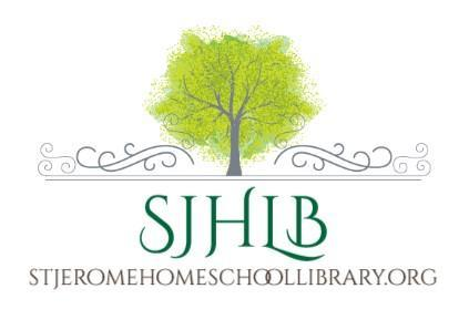 St Jerome Homeschool Library Logo