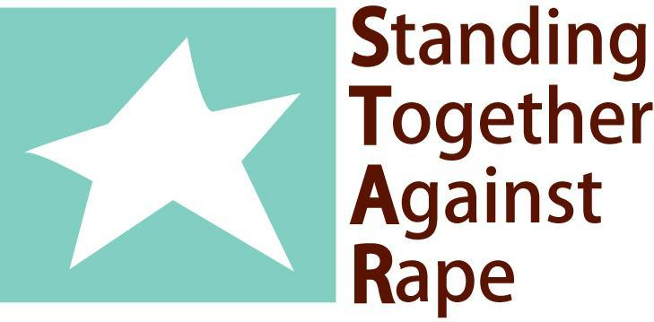 Standing Together Against Rape Inc - S T A R Logo