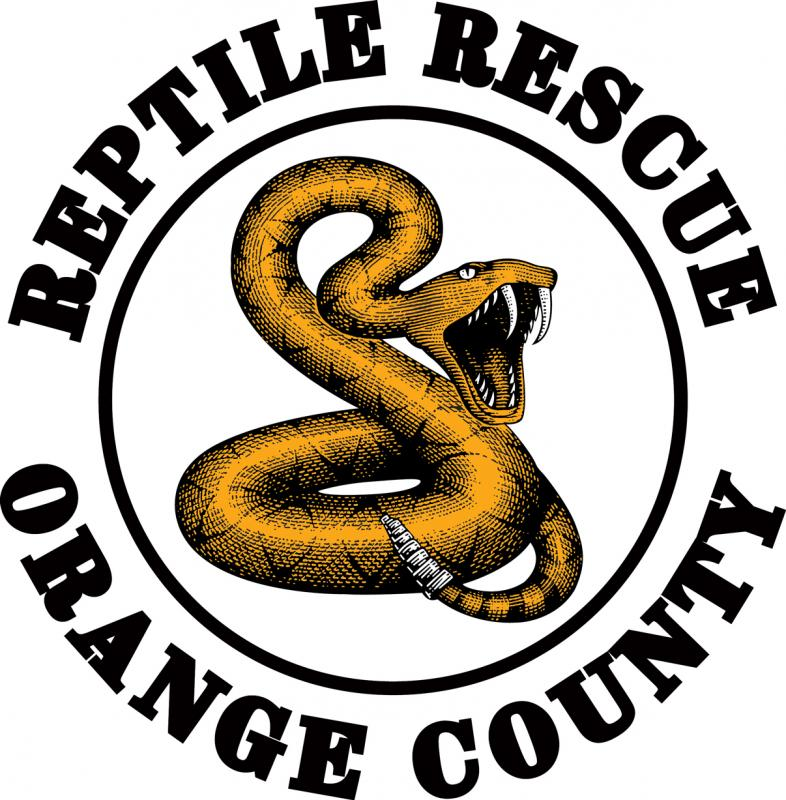 REPTILE RESCUE ORANGE COUNTY Logo