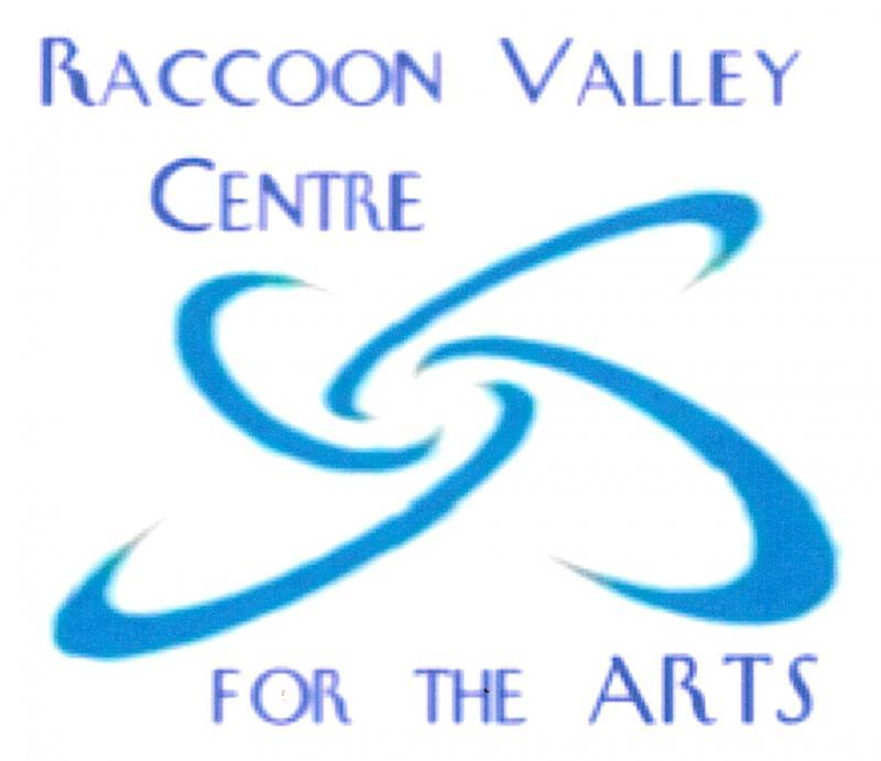 Raccoon Valley Centre For The Arts Logo