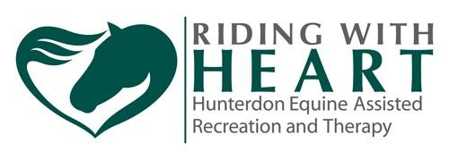 Riding with HEART Logo