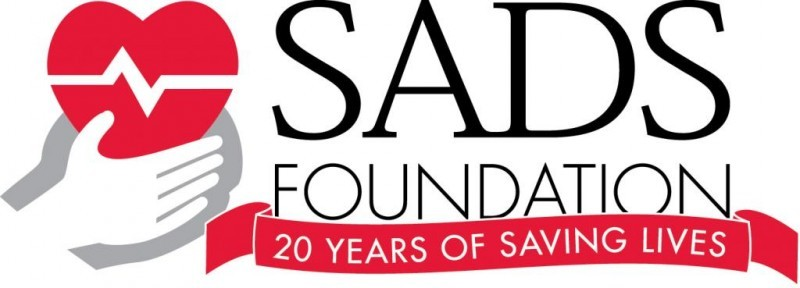 SADS (Sudden Arrhythmia Death Syndromes) Foundation Logo