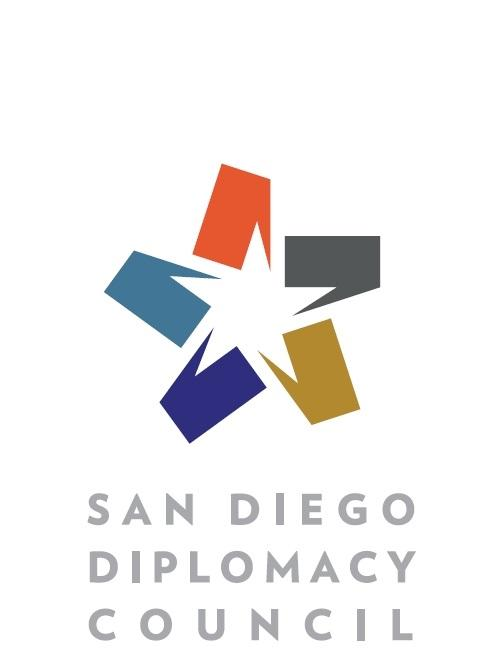 SAN DIEGO DIPLOMACY COUNCIL Logo