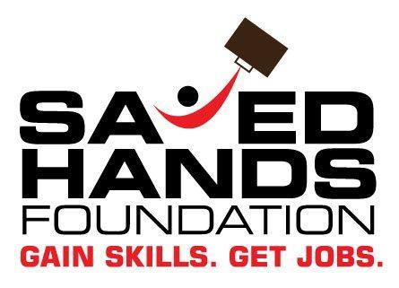 SAVED HANDS FOUNDATION Logo