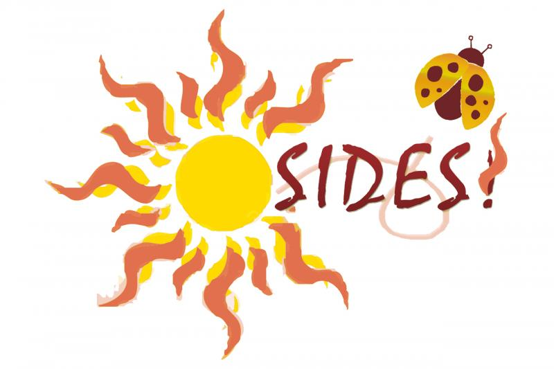 SIDES (Sydney's Incredible Defeat of Ewings Sarcoma) Logo
