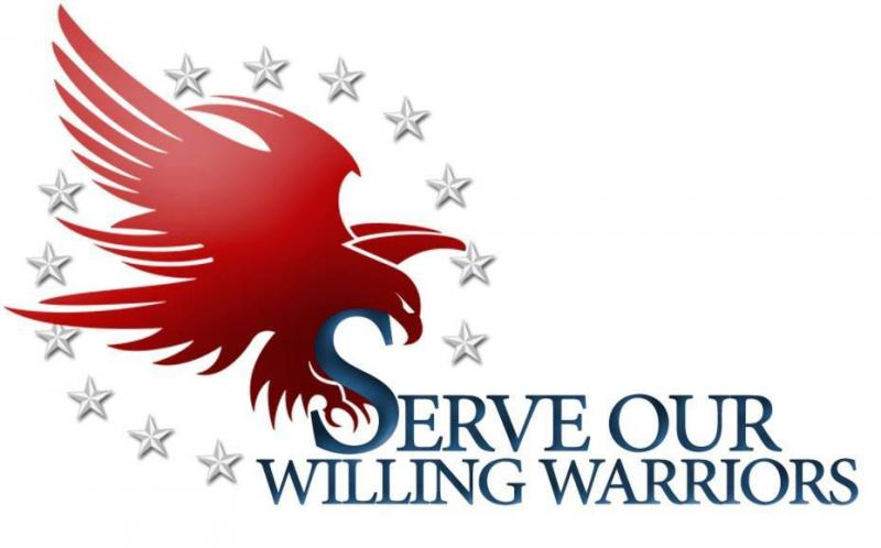 Serve Our Willing Warriors Logo