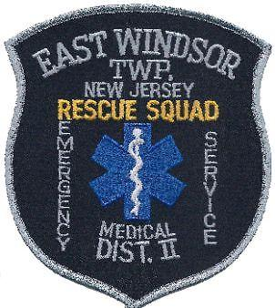 EAST WINDSOR RESCUE SQUAD DISTRICT II Logo
