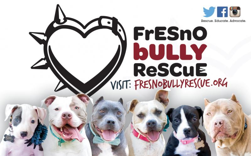 Fresno Bully Rescue, Inc. Logo