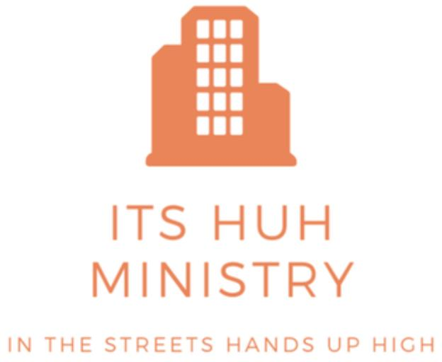 ITS HUH Ministry (In The Streets-Hands Up High Ministry) Logo