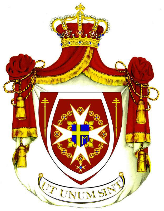 Sovereign Hospitaller Order of St John of Jerusalem Inc Logo