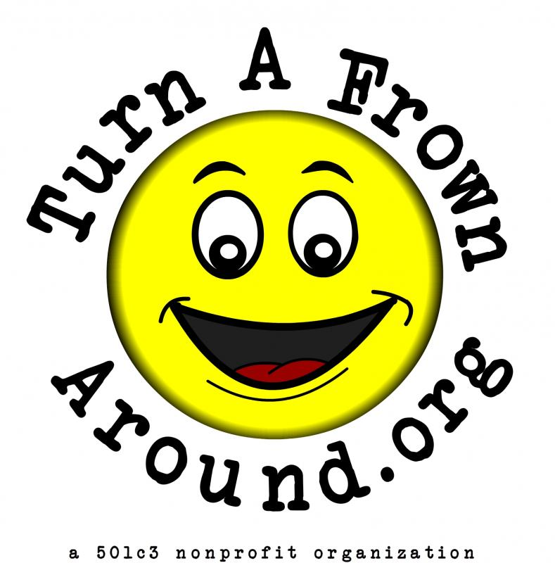 Turn-A-Frown Around Foundation, Inc. Logo