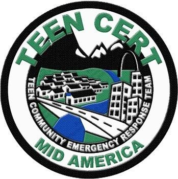 Mid America Teen Community Emergency Response Team Logo