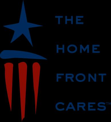 The Home Front Cares Logo