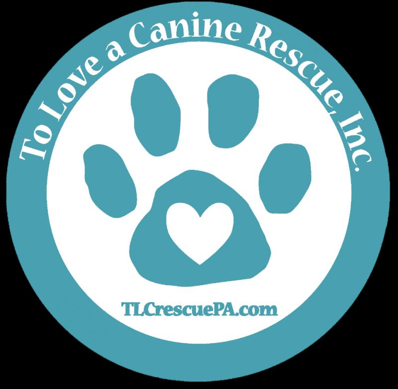 To Love a Canine Rescue, Inc. Logo