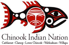 CONFEDERATED LOWER CHINOOK TRIBES AND BANDS Logo