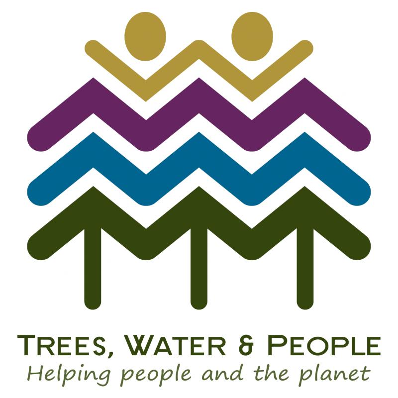 Trees, Water & People Logo