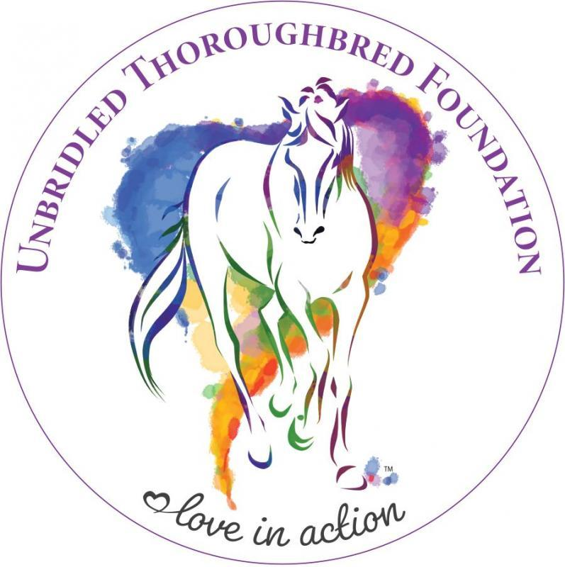 Unbridled Thoroughbred Foundation Logo