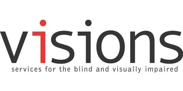 VISIONS/ Services for the Blind and Visually Impaired Logo