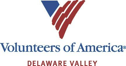 VOLUNTEERS OF AMERICA DELAWARE VALLEY Logo
