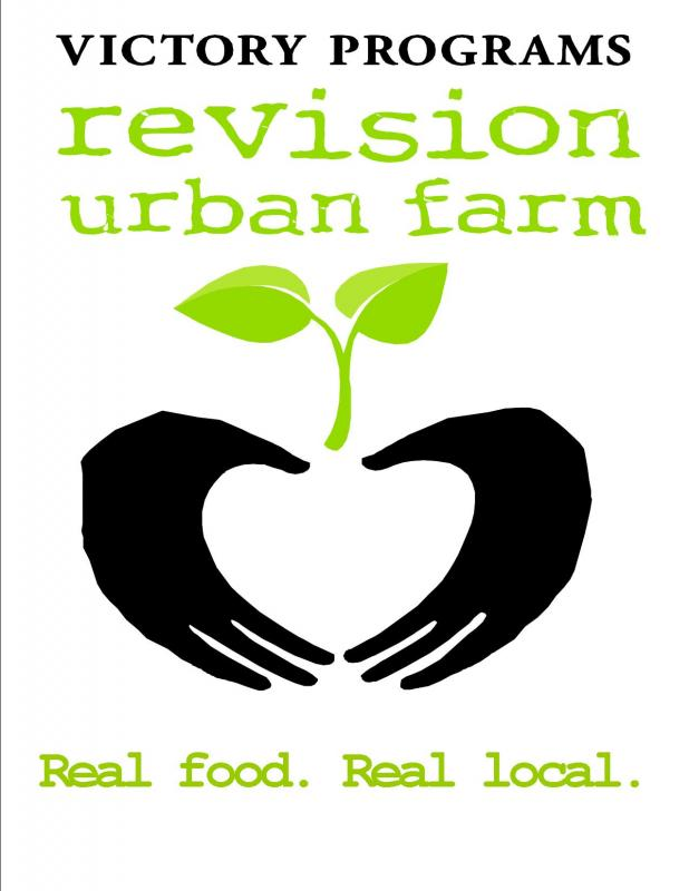 Victory Programs' ReVision Urban Farm Logo