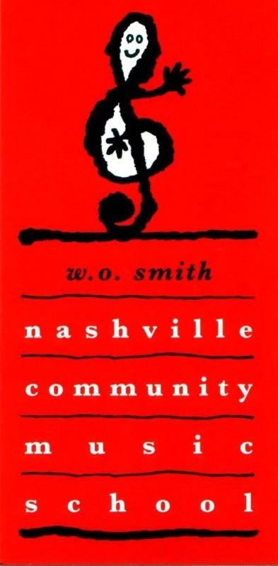 W.O. Smith Community Music School Logo
