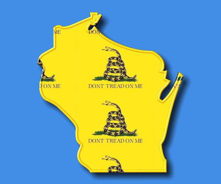 The Green Bay TEA Party aka Wisconsin TEA Party Logo