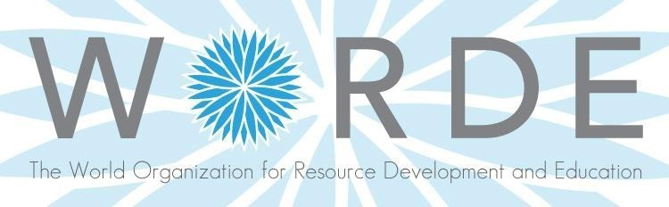 World Organization for Resource Development and Education Logo