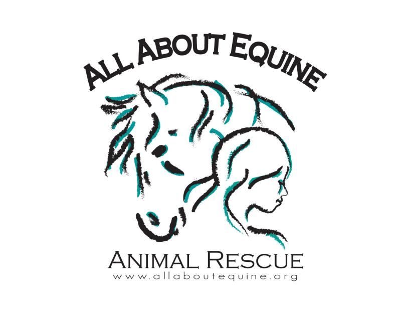 All About Equine Animal Rescue, Inc. Logo
