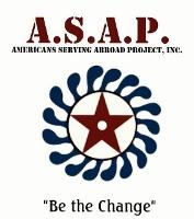 ASAP (Americans Serving Abroad Projects) Logo