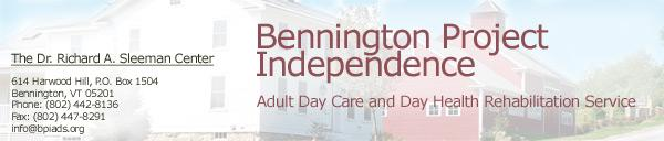 Bennington Project Independence Inc Logo