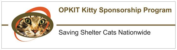 Opkit Kitty Sponsorship Program Inc Logo