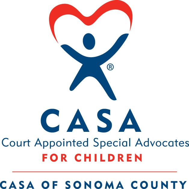 CASA of Sonoma County (Court Appointed Special Advocates of Sonoma County) Logo