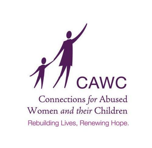 connections for abused women and their  children Logo