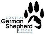 COASTAL GERMAN SHEPHERD RESCUE OF SOUTHERN CALIFORNIA A PUBLIC Logo