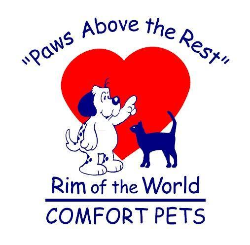 Rim Of The World Comfort Pets Inc Logo