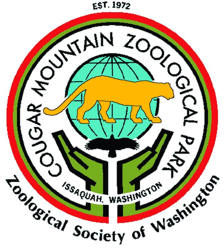 ZOOLOGICAL SOCIETY OF WASHINGTON (aka Cougar Mountain Zoo) Logo