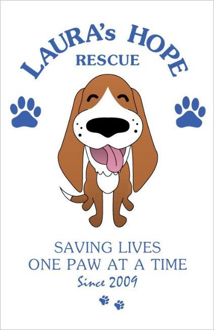 Laura's Hope Rescue Logo