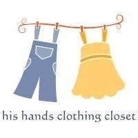 His Hands Clothing Closet Limited Logo