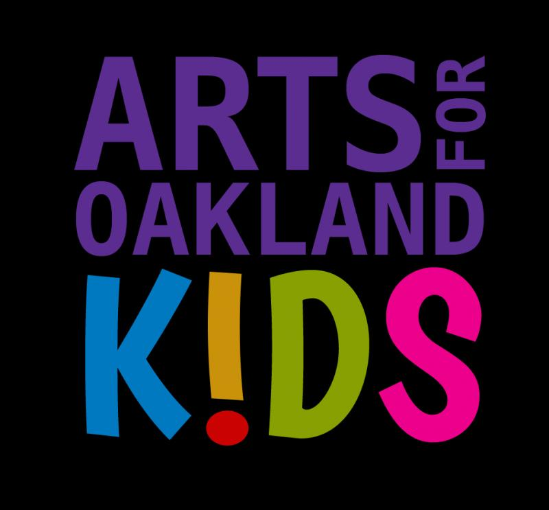 Arts for Oakland Kids Logo