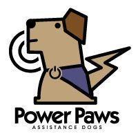Power Paws Assistance Dogs Inc Logo