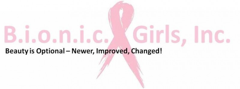 B.i.o.n.i.c. Girls, Inc. (Beauty is Optional; Newer, Improve, Changed) Logo